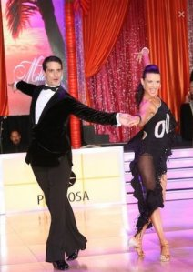 Nuno and Rebecca Professional Latin Show dancers and choreographers