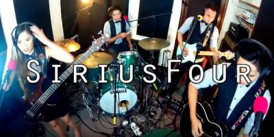 SiriusFour, 4 piece cover band from Philippines (40`s - recent songs)